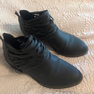 Maurices grey booties